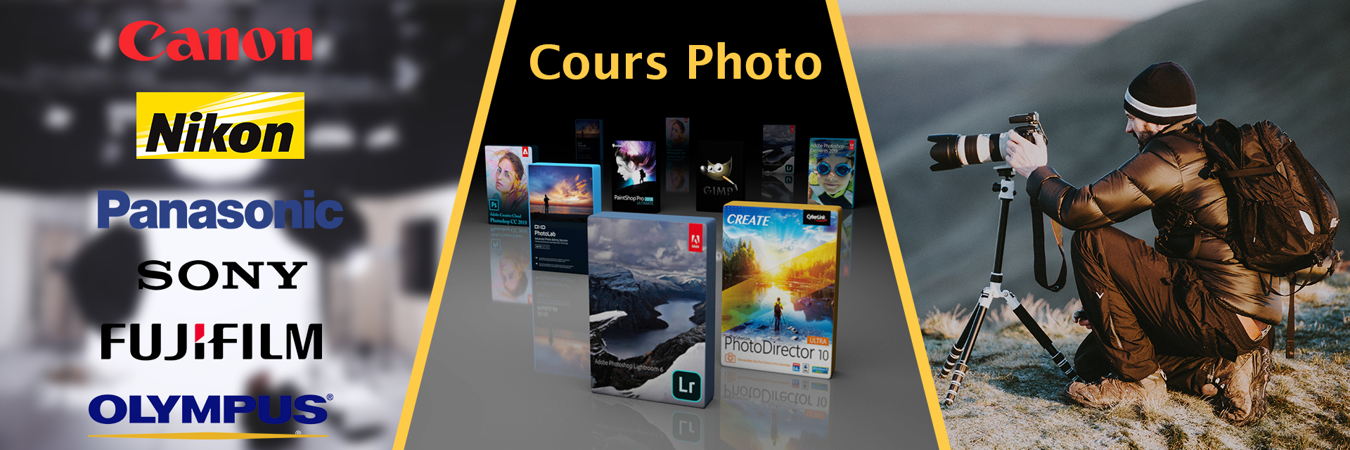 Cours Photo PA FORMATION