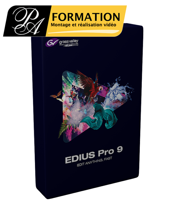 Edius 9 - PA FORMATION