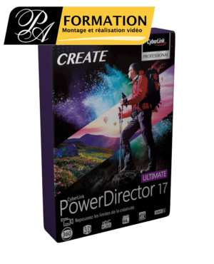 Powerdirector 17 - PA FORMATION