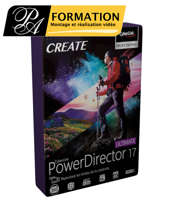 Cours-Powerdirector 17 - PA FORMATION