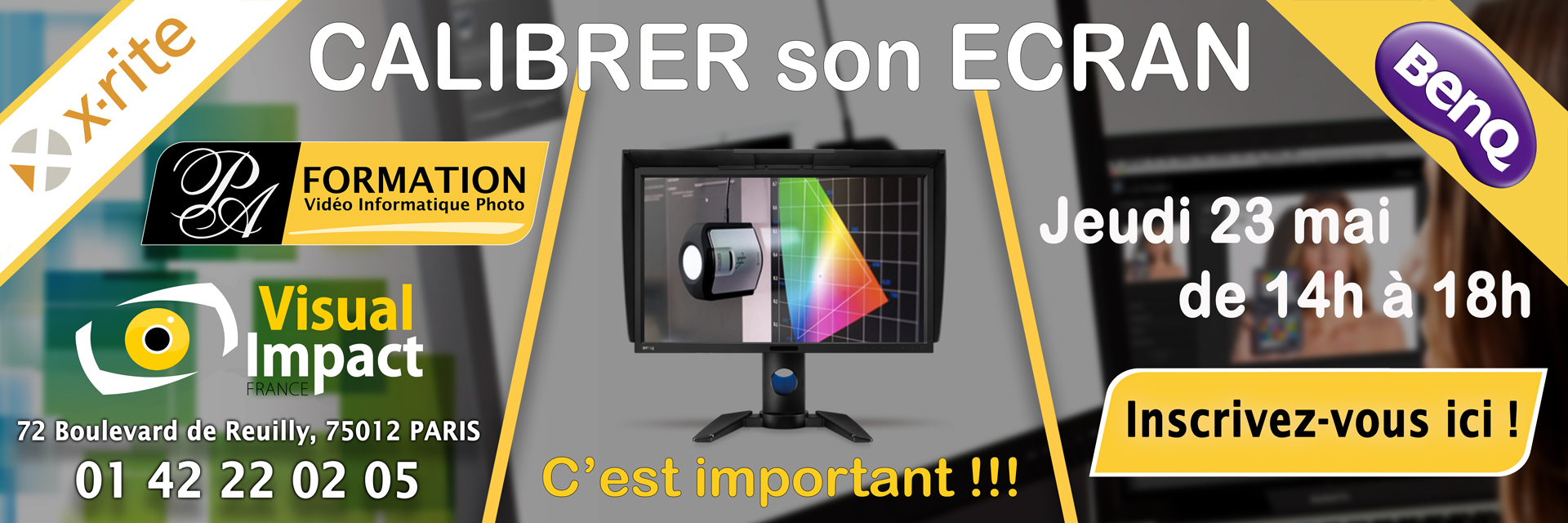 Atelier-Calibrage-xrite-benq-visualimpact-PA-FORMATION